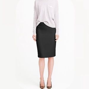 J. Crew No. 2 pencil skirt in double-serge wool